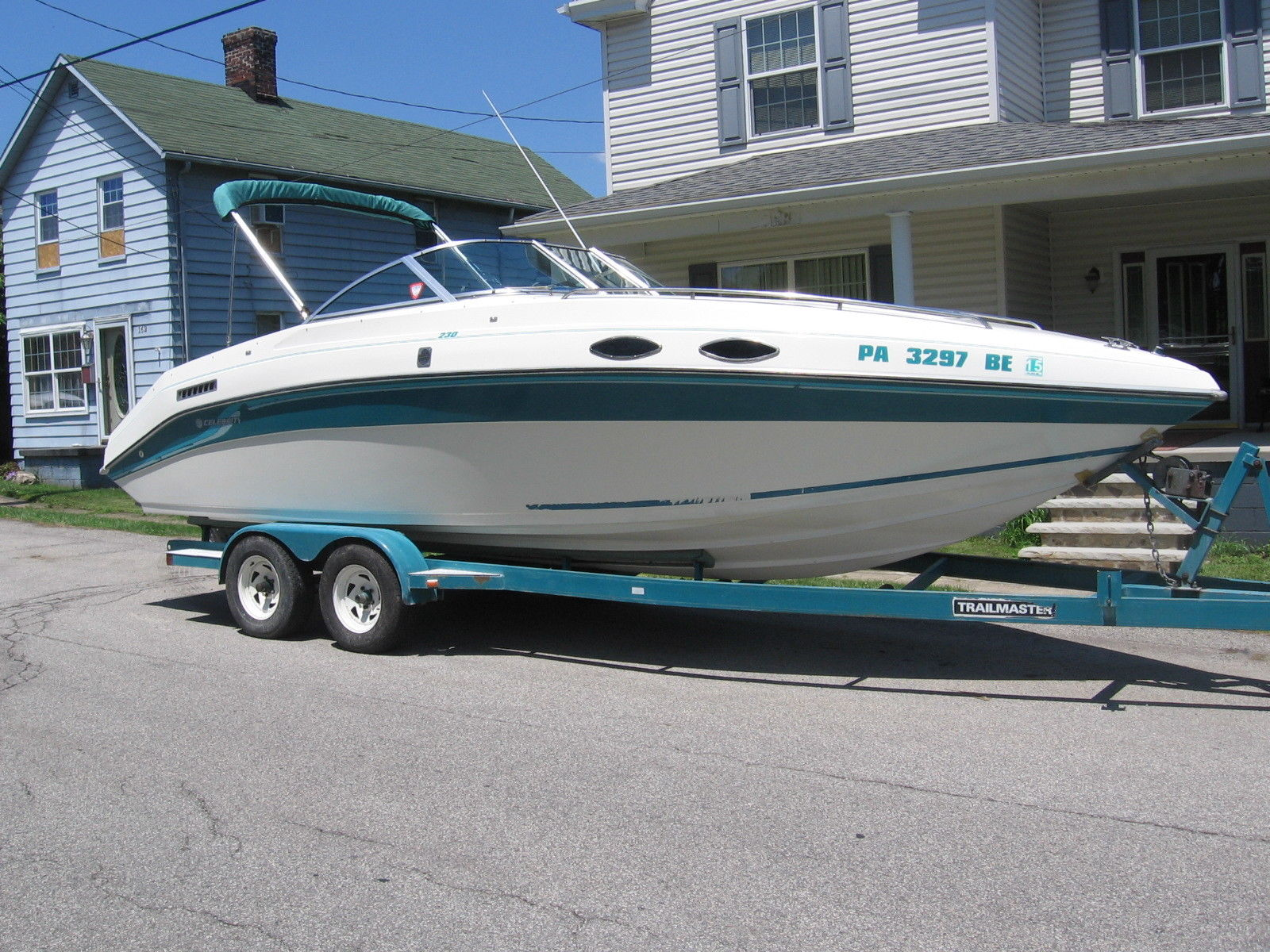 1989 Sea Ray 260 Cuddy w/ Mercruiser 7.4L V8 454 cu in ...