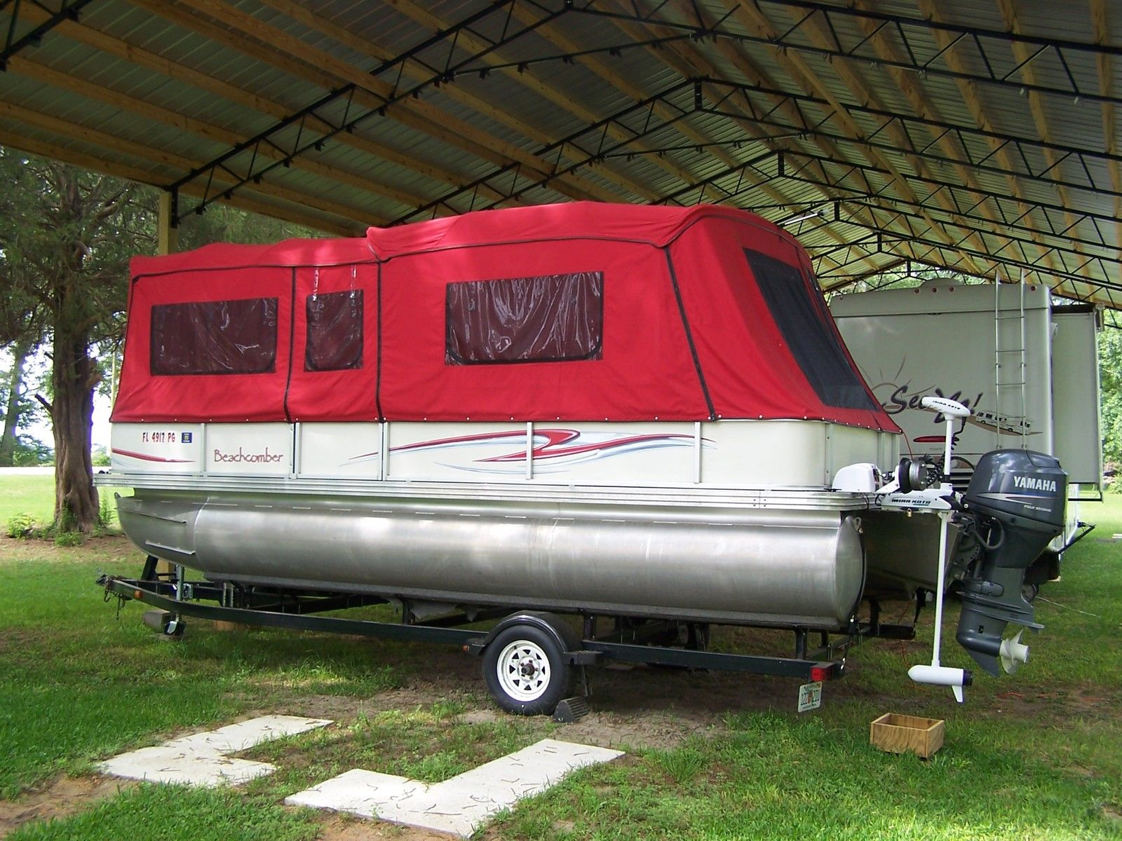 Beachcomber Pontoon Boat 2006 For Sale For 22 900 Boats