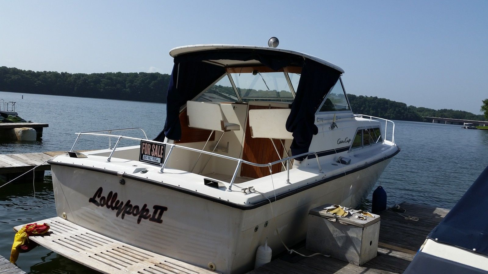 Chris Craft Cabin Cruiser 1979 for sale for $3,500 - Boats