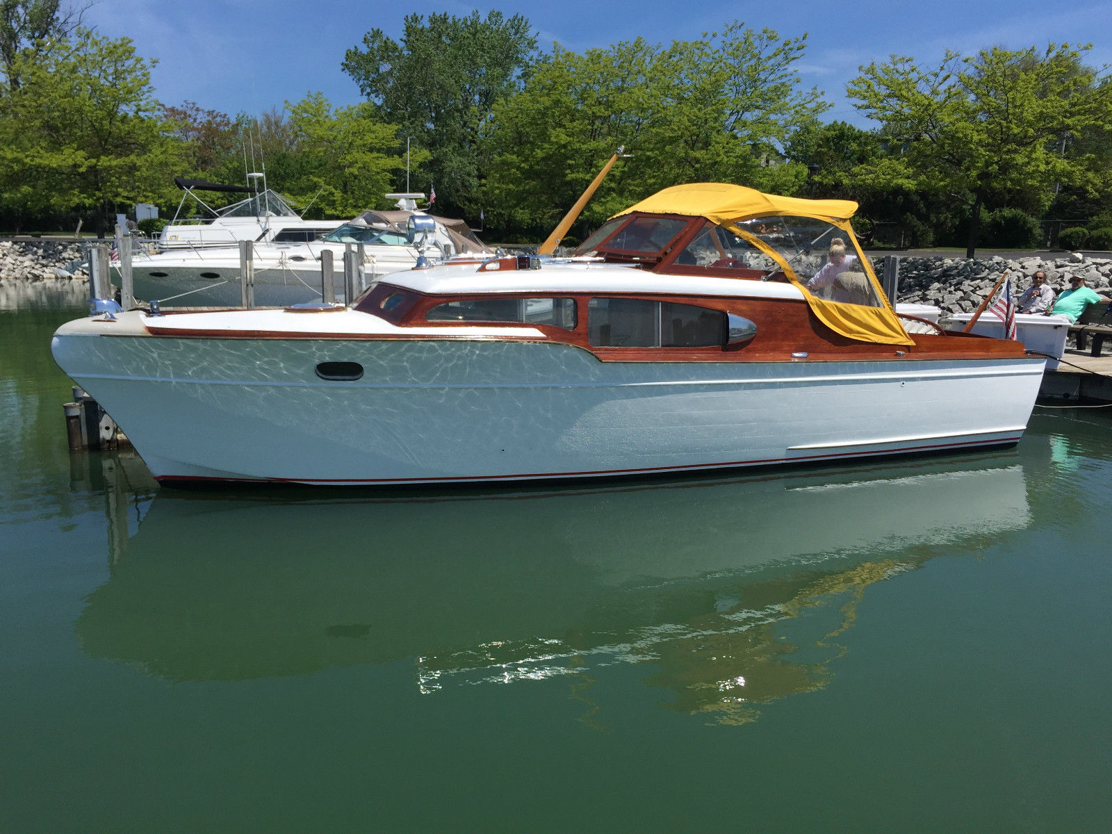 chris craft express cruiser 1954 for sale for 17 900
