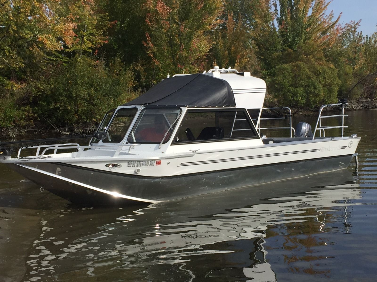 Duckworth magnum 1995 for sale for 36 000 boats from for Jet fishing boats for sale