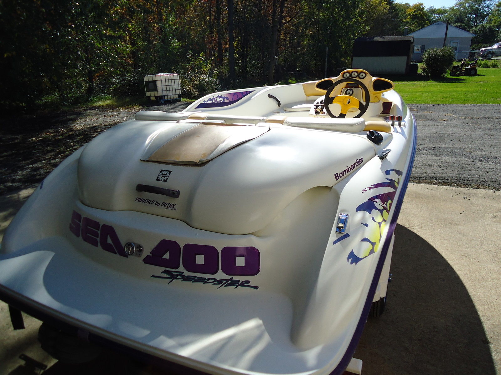 Seadoo Speedster Boat And Trailer