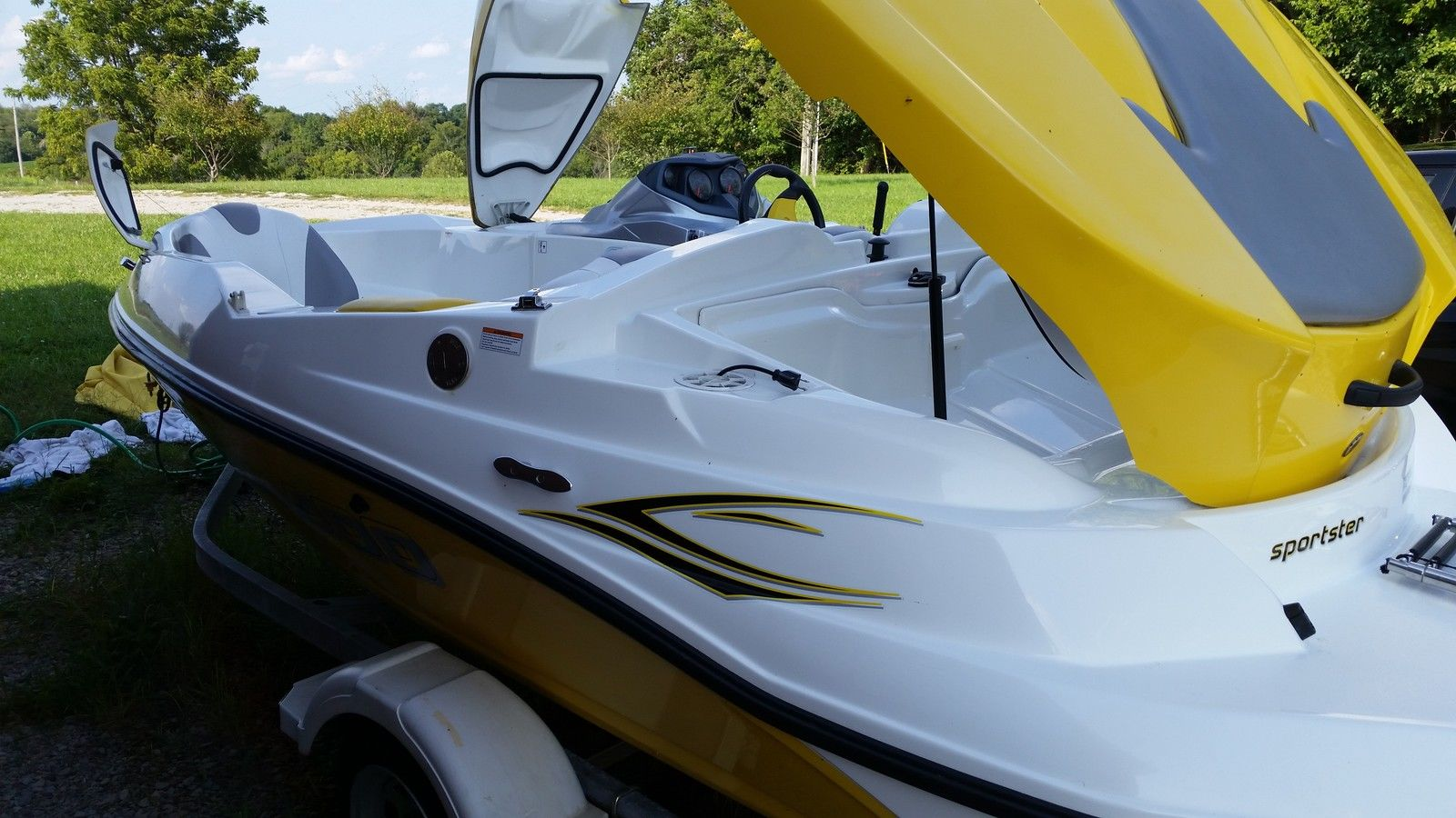 Sea Doo Sportster on Sportster Primary Drive