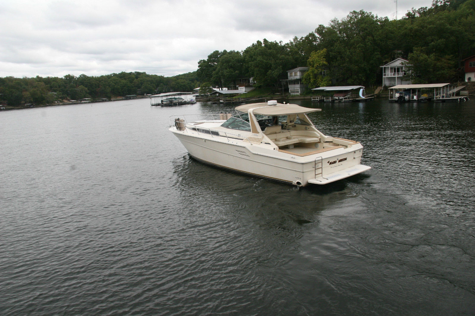 Sea Ray 460 Express Cruiser 1986 For Sale For 55 000