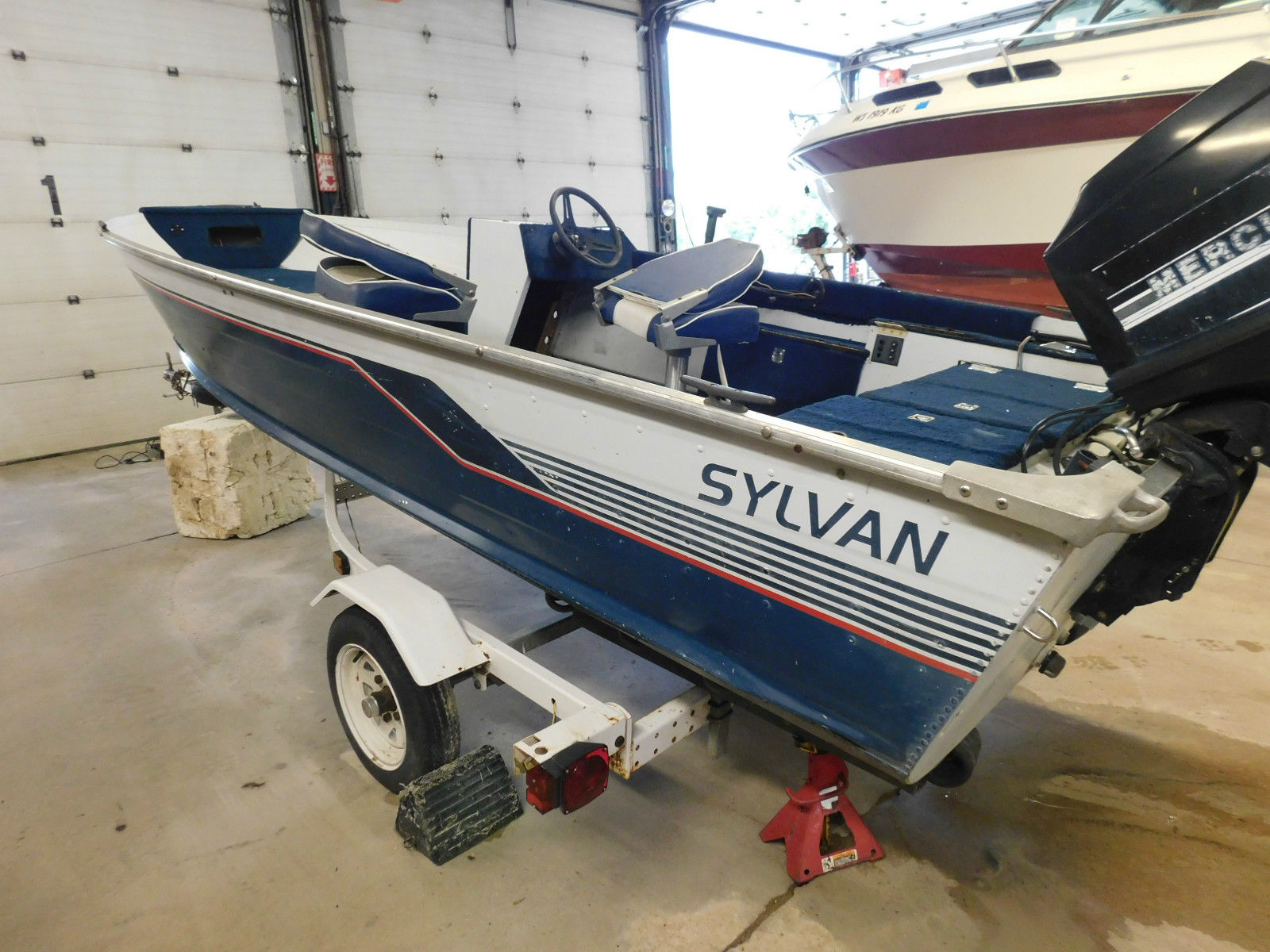 Sylvan 15r50 1990 for sale for 513 boats from for Syvlan
