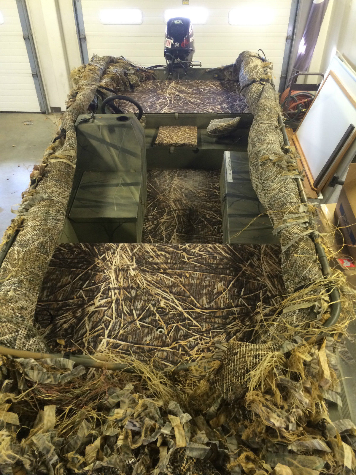 Tracker Grizzly 1754sc Blind Duck 2006 For Sale For 8 000